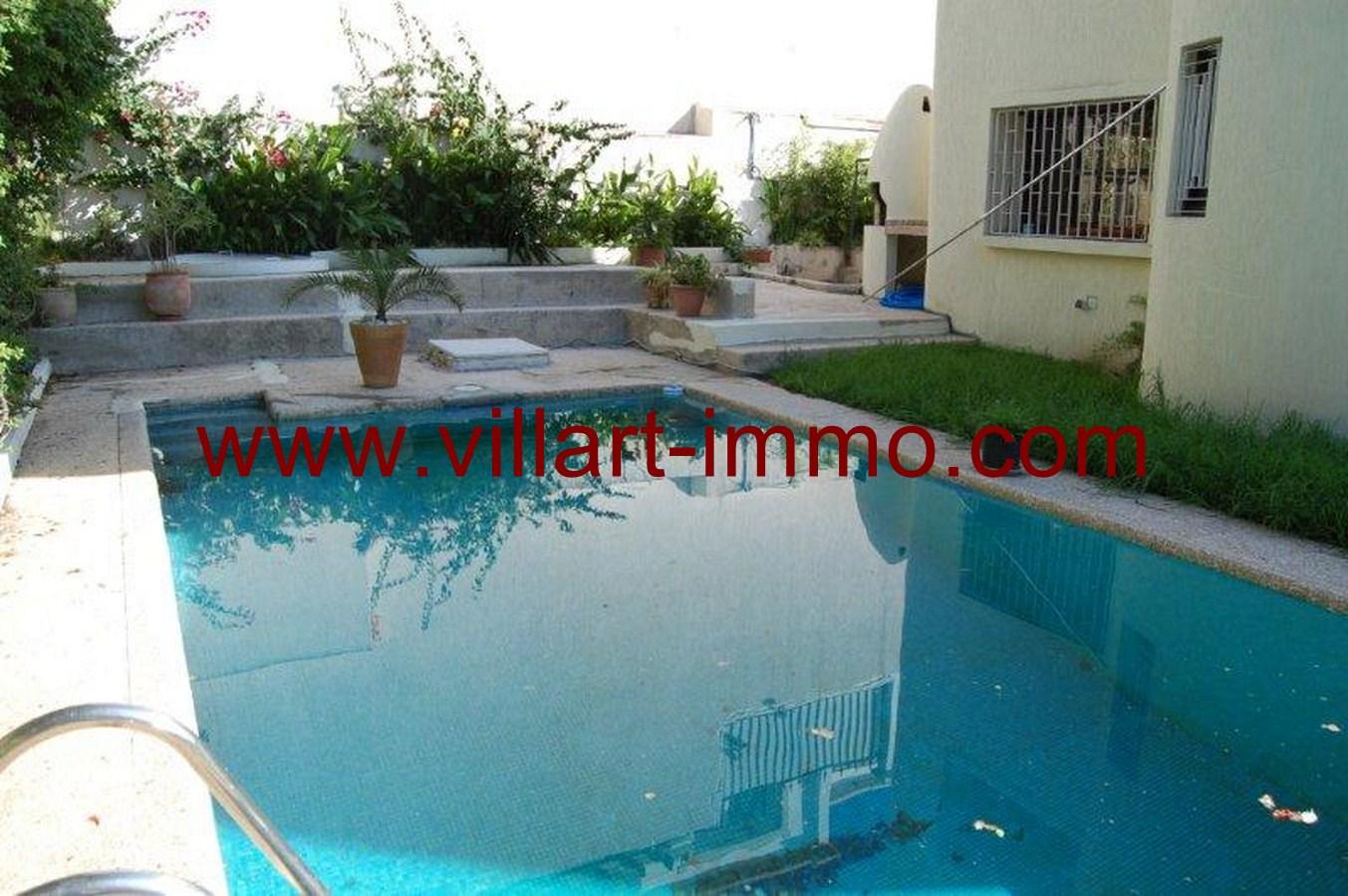Maison avec piscine tanger maison moderne for Piscine demontable maroc