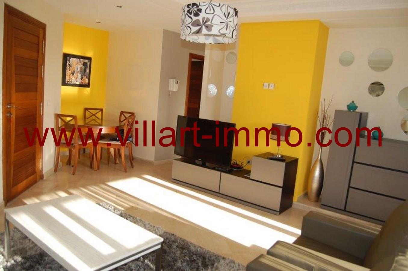 A louer superbe appartement moderne et bien meubl tanger villart - Appartement meuble a louer a tanger ...