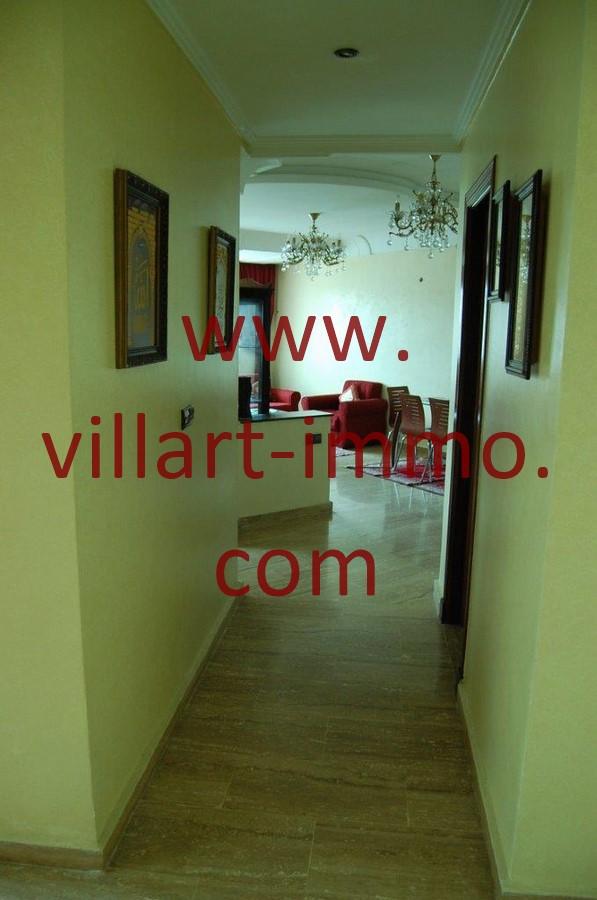 10-Location-Appartement-Tanger-Couloir-L985-villart immo