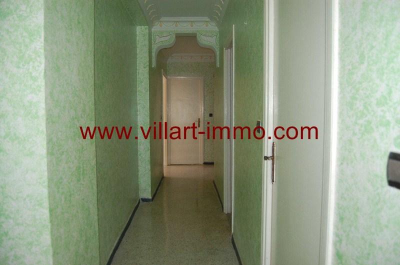 11-Location-Appartement-Non meublé-Tanger-Malabata-Couloir-L983-Villart immo