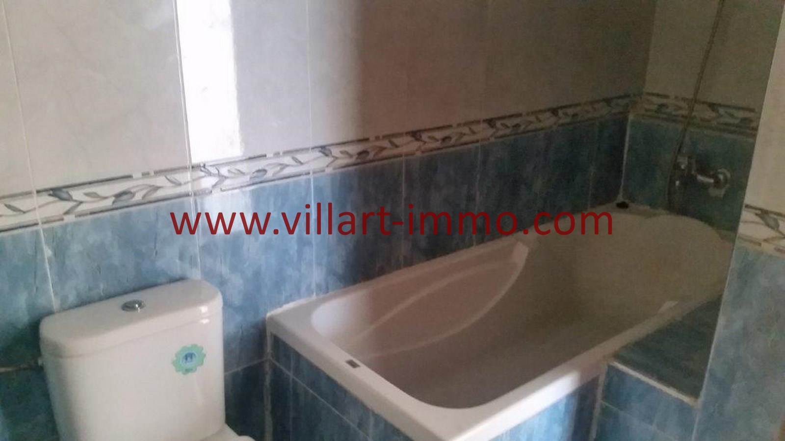 13-A louer-Tanger-Appartement-Non meublée-Centre ville-Salle de bain-L1029