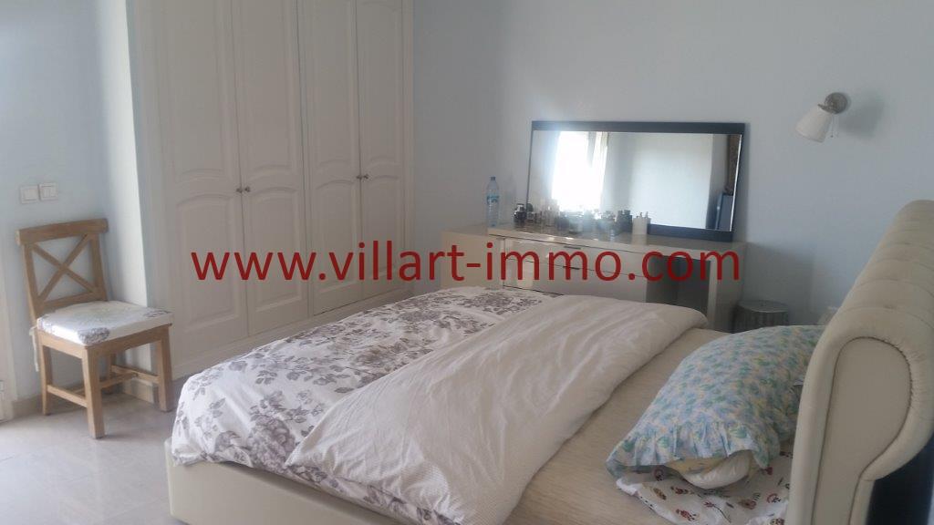 14-Location-Tanger-Appartement meublé-Iberia-Chambre principale-L1027