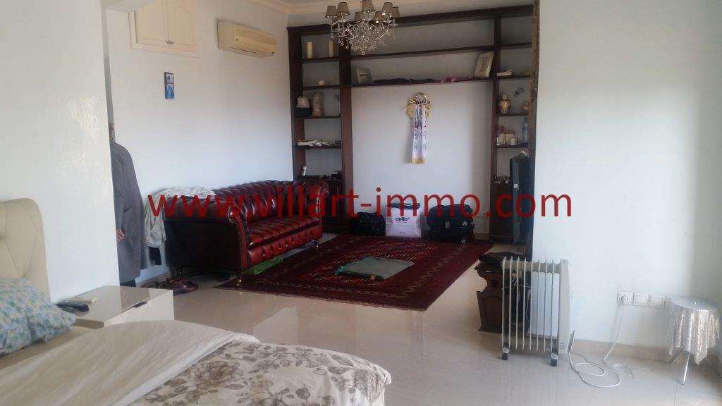 15-Location-Tanger-Appartement meublé-Iberia-Chambre principale-L1027