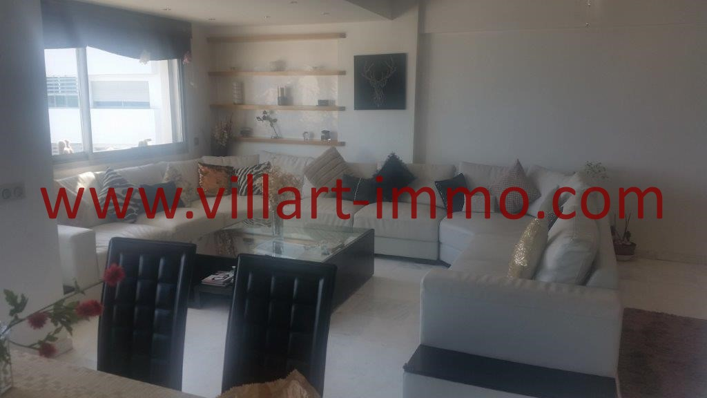 2-For sale-Tangier-Apartment-City centre-living room-VA612