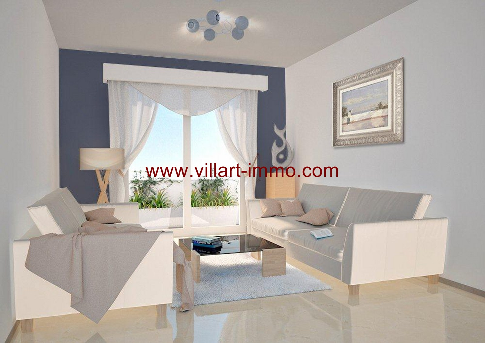 2-Vente-Appartement-Tanger-Centre-ville-SHAZ-Villart Immo