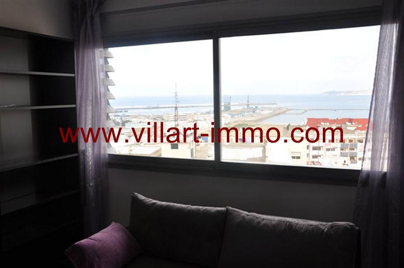 2-Location-Appartement-Meublé-Tanger-Centre ville-Salon'-L131-Villart immo