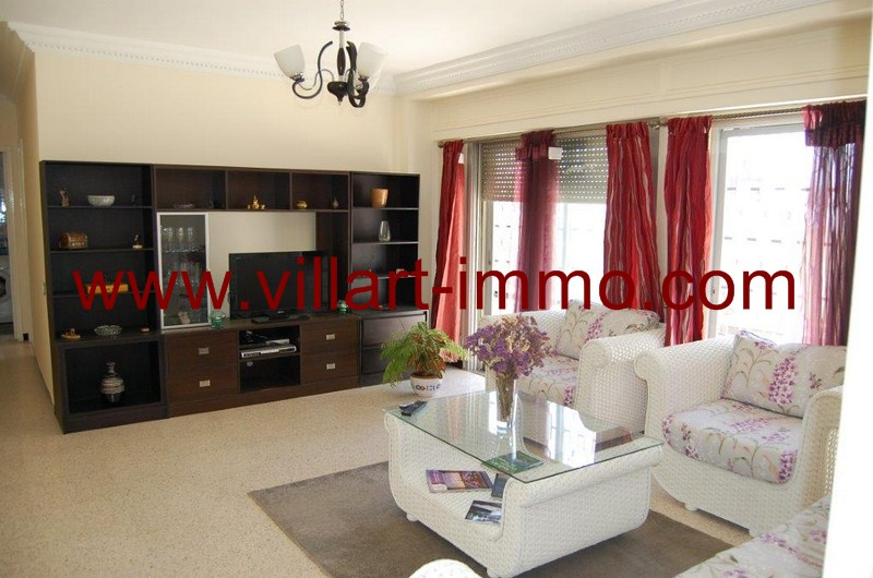 2-Location-Appartement-Meublé-Tanger-Salon-L53-Villart immo