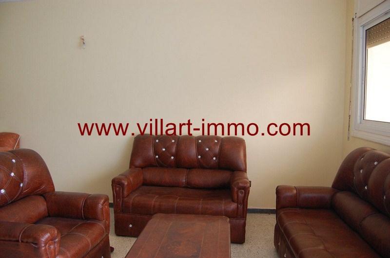 2-Location-Appartement-Non meublé-Tanger-Malabata-Salon 1-L983-villart immo