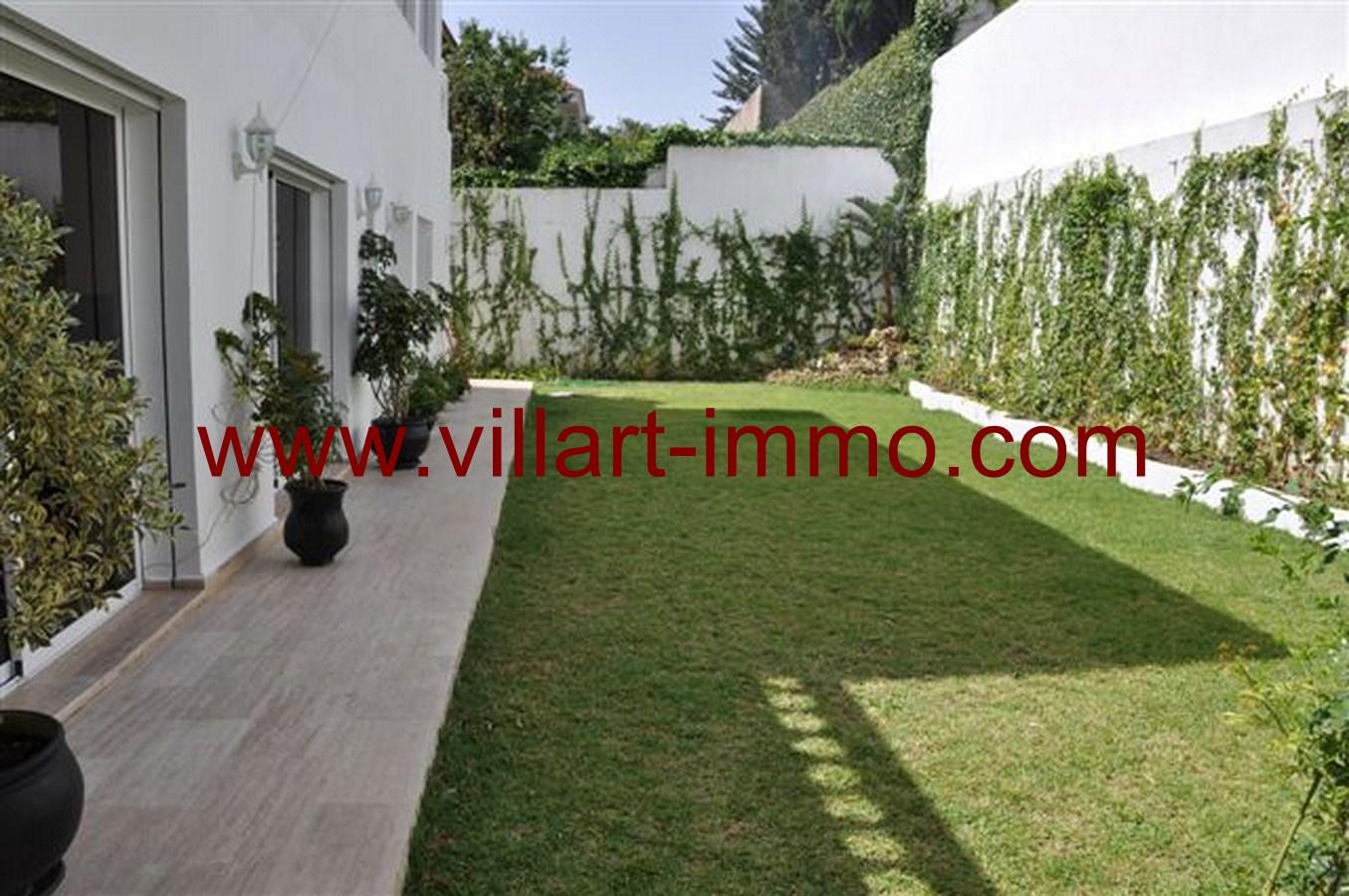 2-Location-Maison-Meublée-Tanger-Bella-Vista-Jardin-LV232