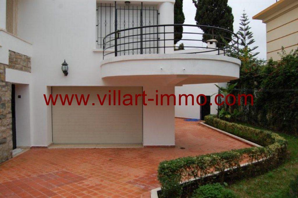 A louer belle villa non meubl e tanger avec for Location maison avec jardin 34