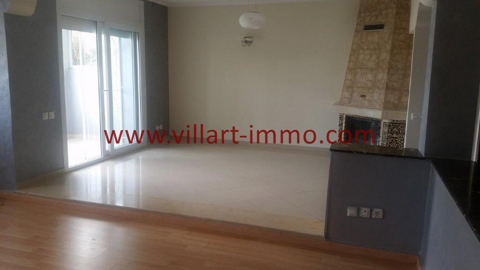2-Location-appartement-Non meublé-Tanger-Californie-Salon-L1028