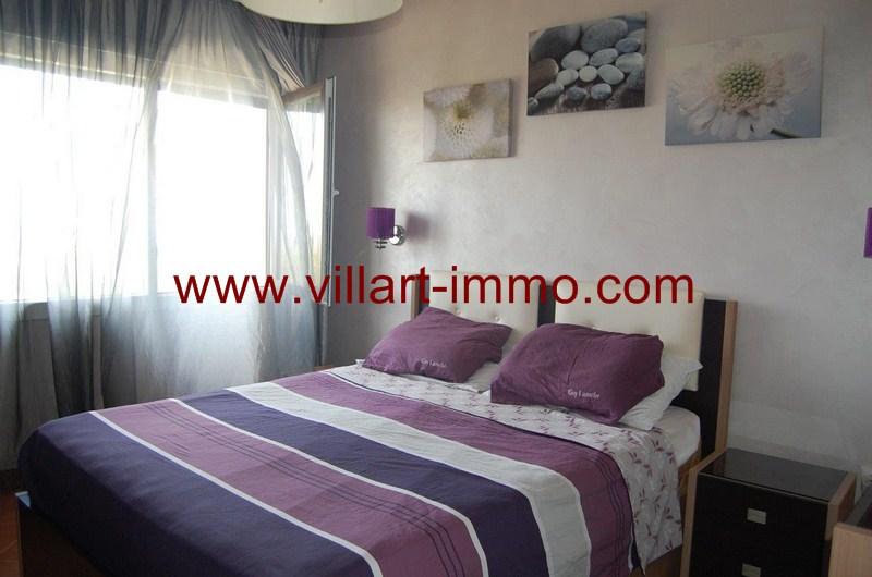 3-Location-Appartement-Meublé-Tanger-Malabata-Chambre 1-L980-Villart immo