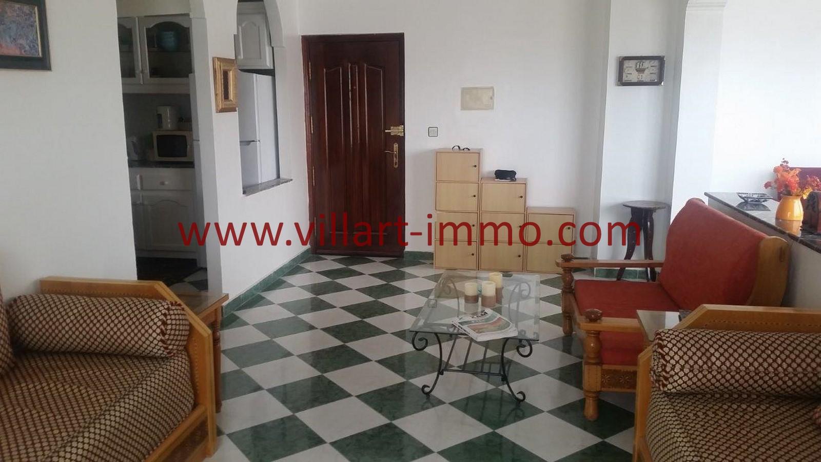 3-Location-Appartement-Tanger-Centre ville-Couloir-L984-Villart immo