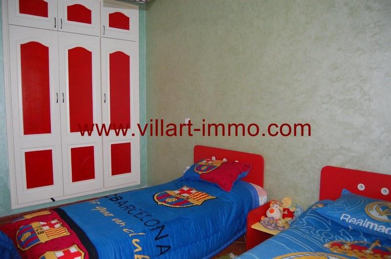 4-Location-Appartement-Meublé-Tanger-Malabata-Chambre 2-L980-Villart immo