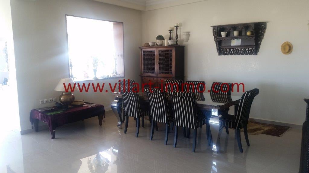5-Location-Tanger-Appartement meublé-Iberia-Salle à manger-L1027