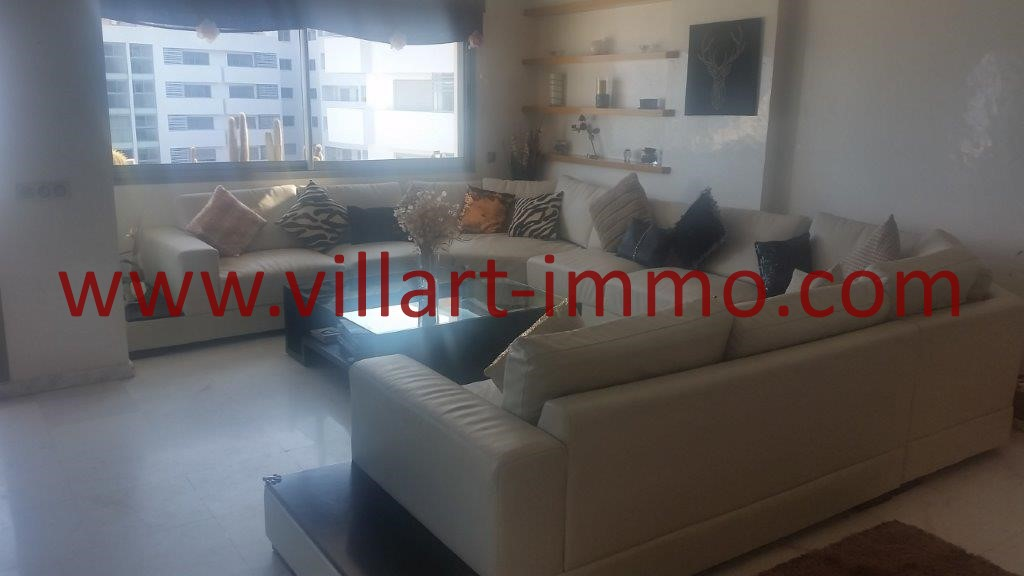 6-For sale-Tangier-Apartment-City centre-living room-VA612