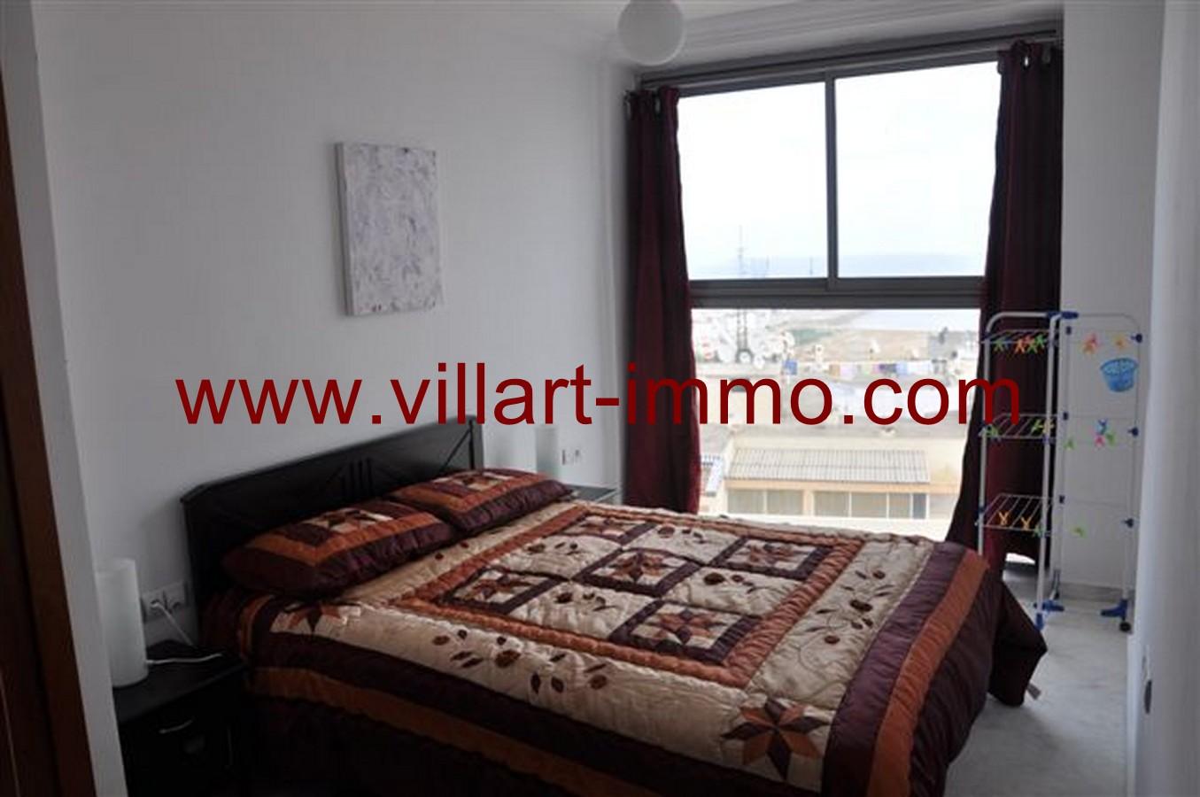 Petit appartement meubl avec vue sur mer louer au for Chambre de commerce tanger