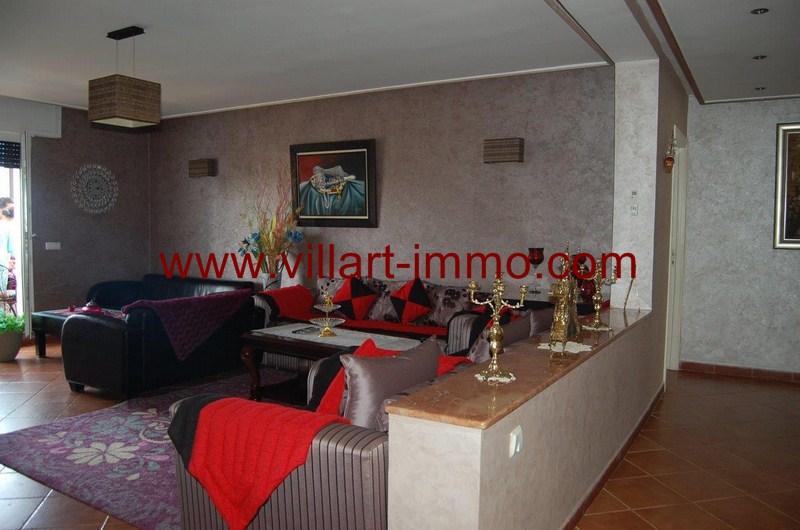 6-Location-Appartement-Meublé-Tanger-Malabata-Salon-L980-Villart immo