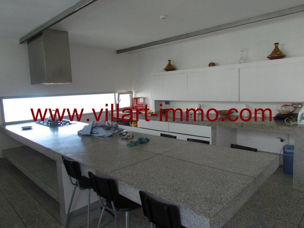 6-Location-Maison-Meublée-Tanger-Cuisine-Salle à manger-Kser-Sghir-LV104