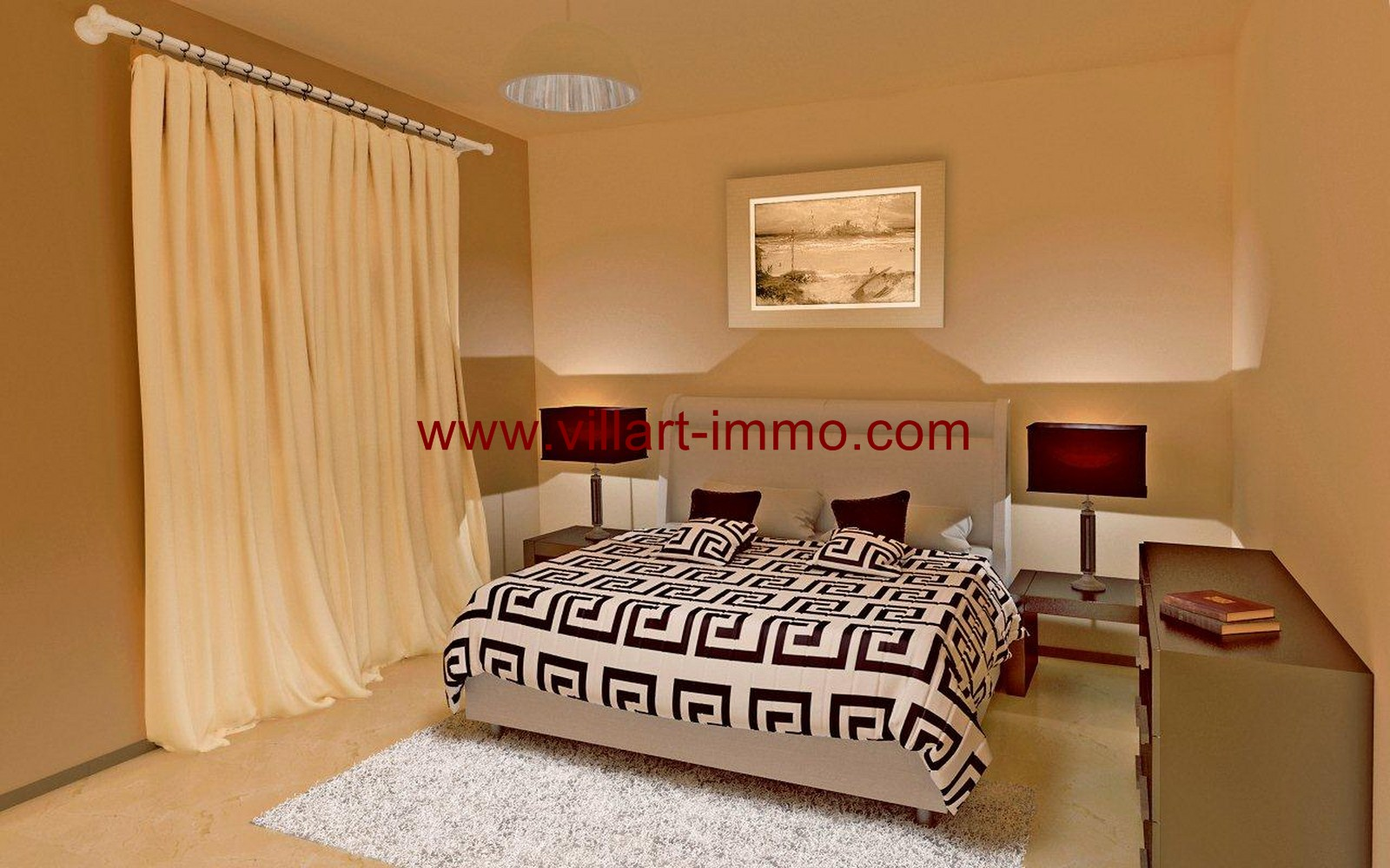 7-Vente-Appartement-Tanger-Centre-ville-SHAZ-Villart Immo