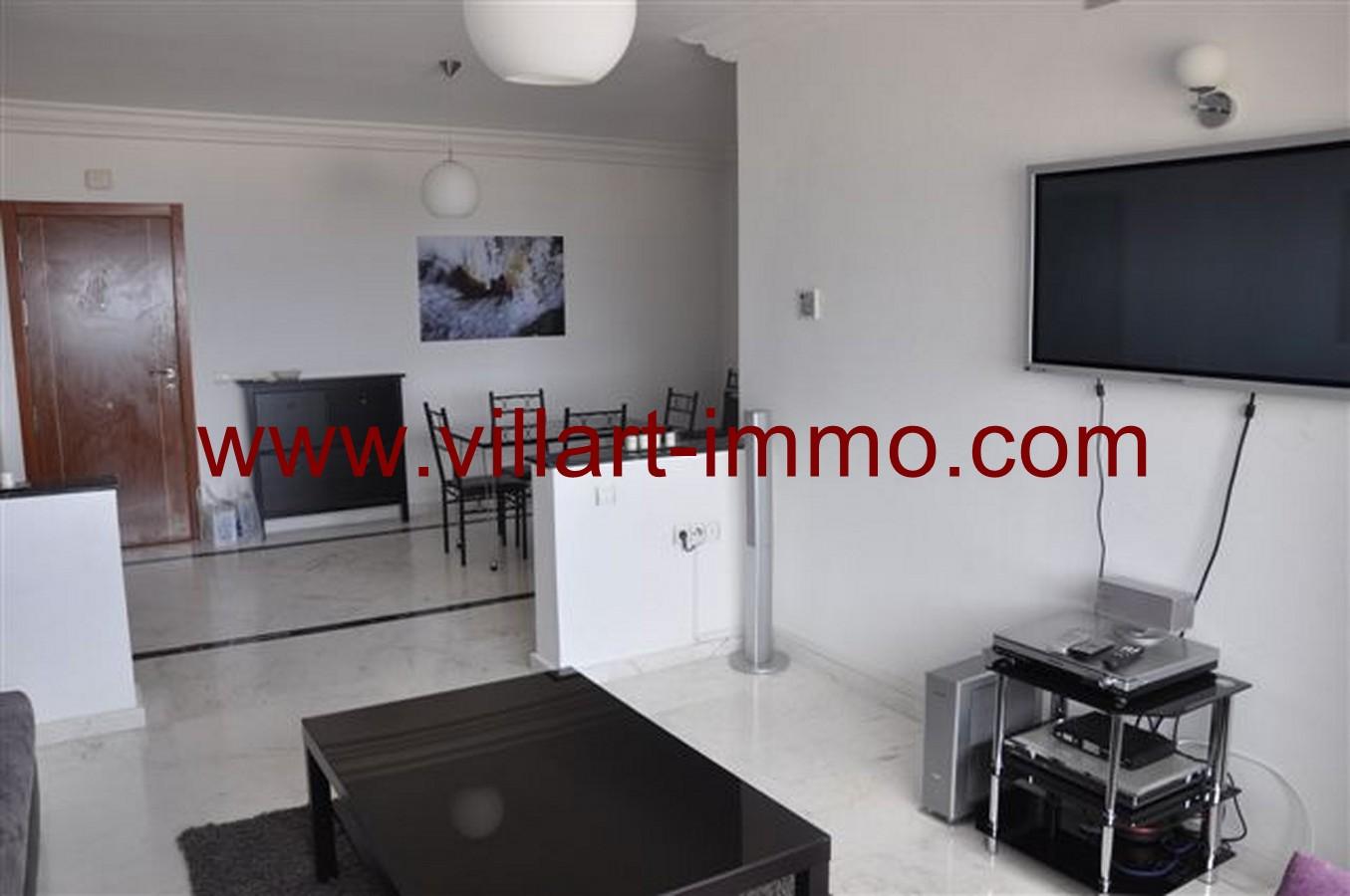 7-Location-Appartement-Meublé-Tanger-Centre ville-Entrée-L131-Villart immo