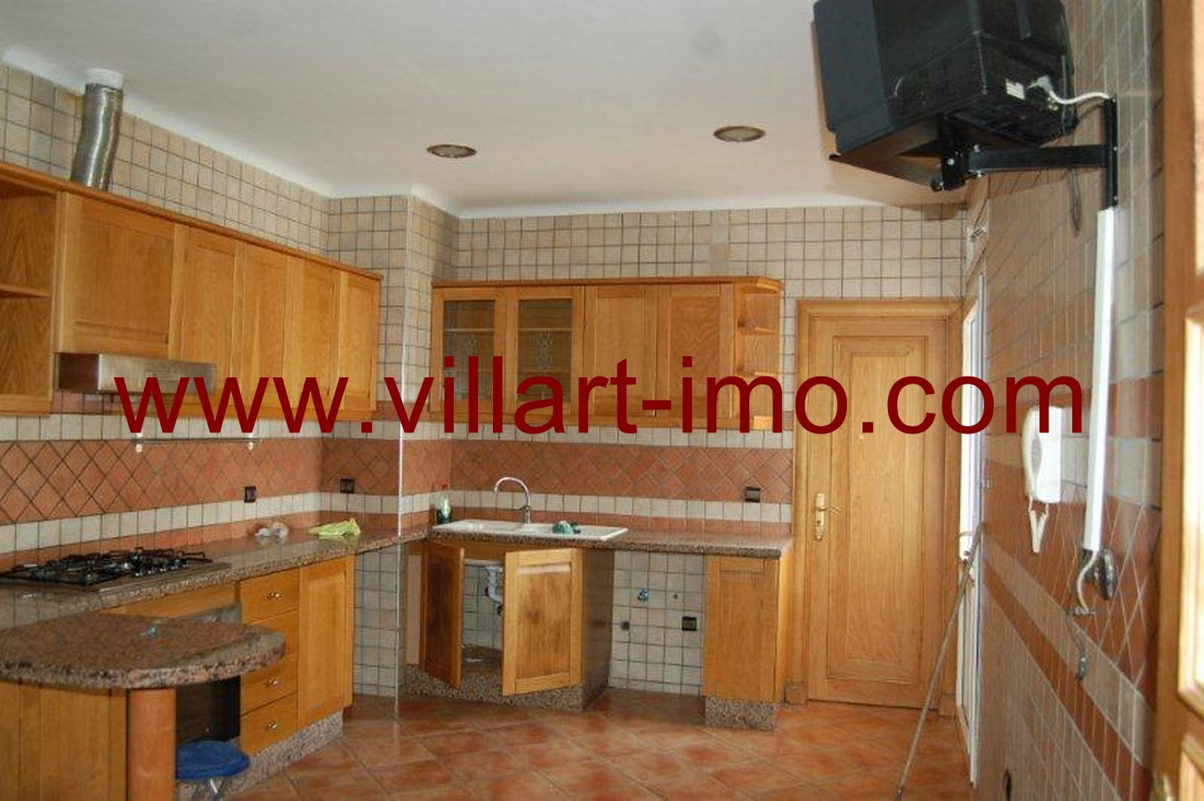 7-Location-Appartement-Non meublé-Tanger-Iberia-Cuisine'-L484-Villart immo
