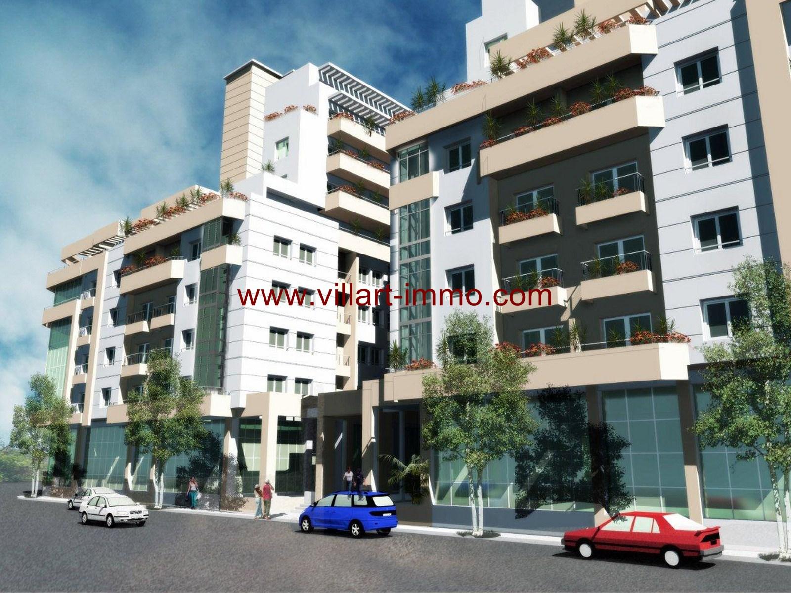 8-Vente-Appartement-Tanger-Centre-ville-SHAZ-Villart Immo