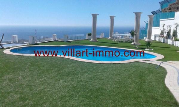 1-Location-Villa-Meublée-Tanger-M'nar-Piscine-LV970-Villart immo