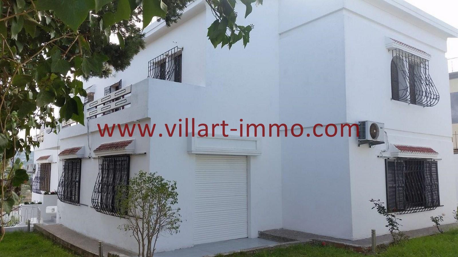 1-Location-Villa-Non meublée-Tanger-Jardin-LV903-Villart immo