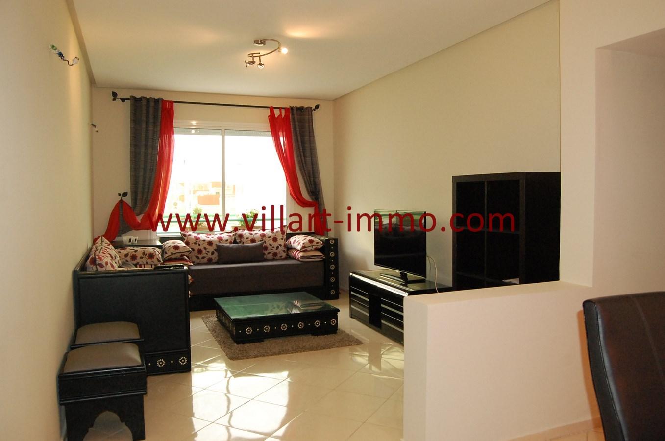 1-Vente-Appartement-Tanger-Salon 1-VA480-Villart Immo