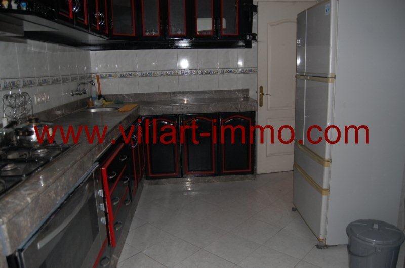 10-A louer-Appartement-Meublé-Tanger-Cuisine-L888-Villart immo