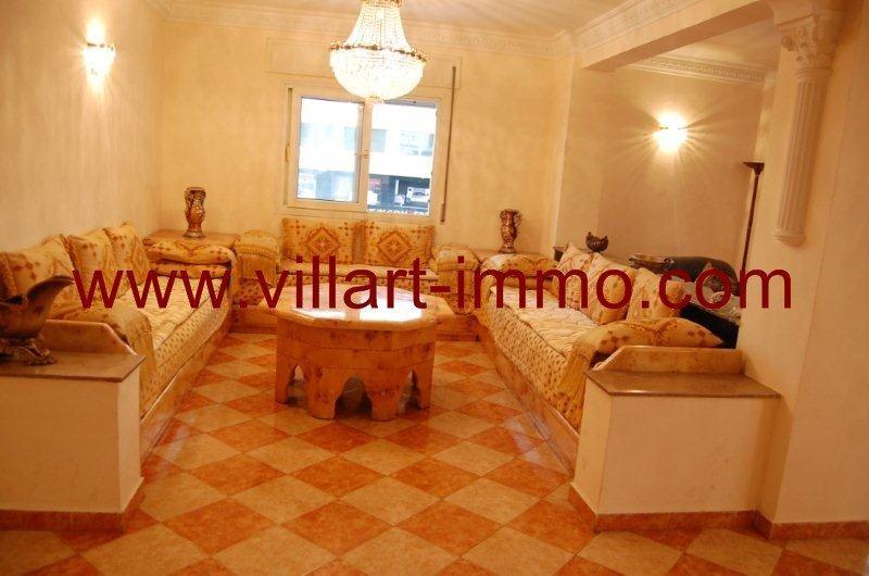 2-A louer-Appartement-Meublé-Tanger-Salon 2-L888-Villart immo