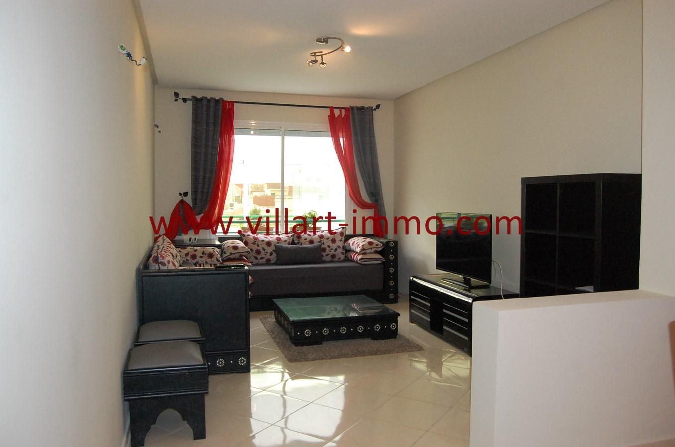 2-Vente-Appartement-Tanger-Salon 2-VA480-Villart Immo