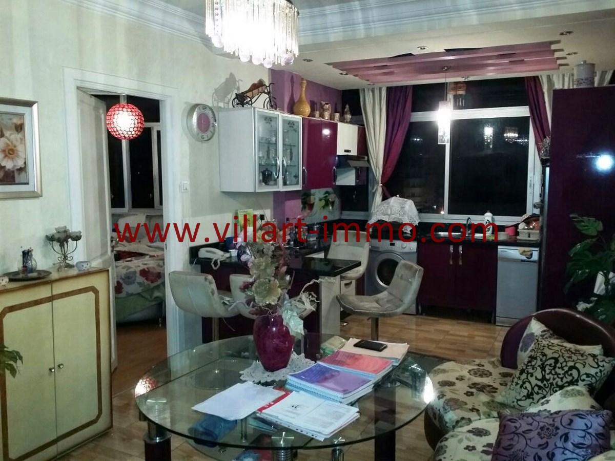 3-Vente-Appartement-Tanger-Centre-ville-Cuisine-Ouverte-VA477-Villart Immo