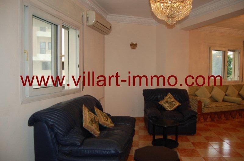 4-A louer-Appartement-Meublé-Tanger-Salon 3'-L888-Villart immo