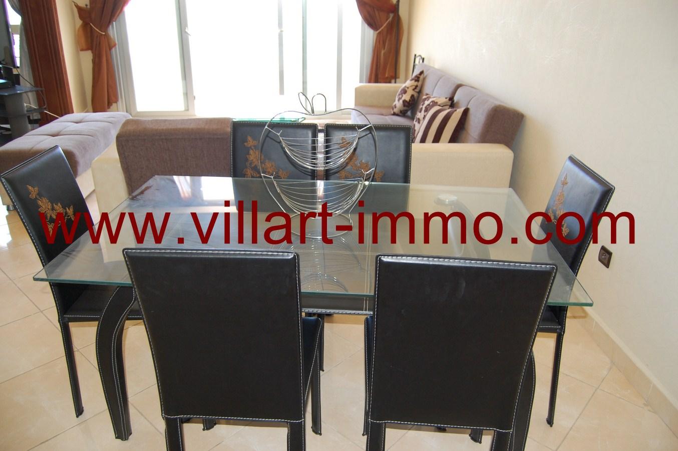 4-Location-Tanger-Appartement-Playa-L447-Salle-à-Manger