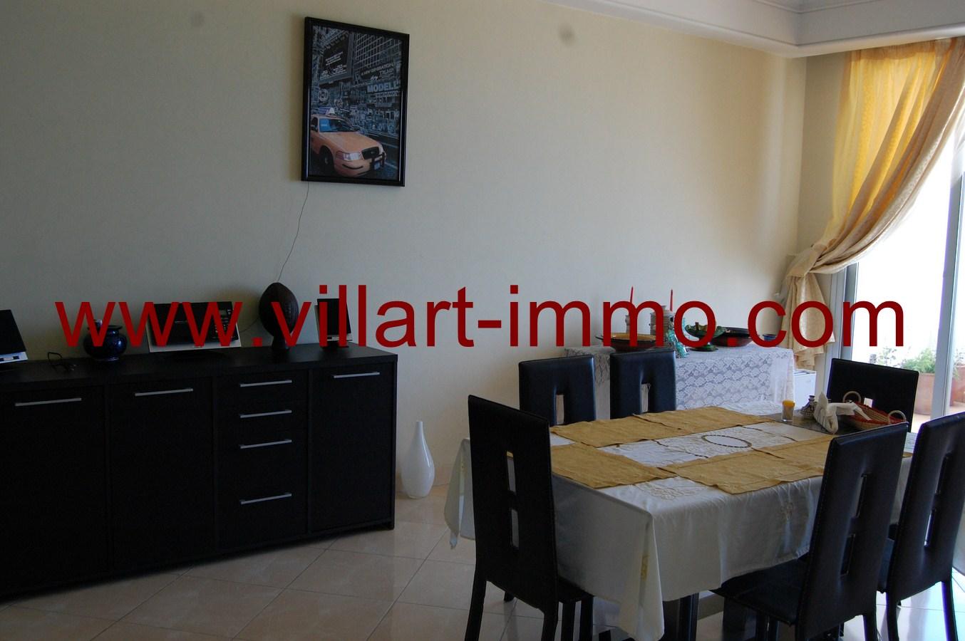 4-Location-Tanger-Appartement-Playa-L448-Salle à manger