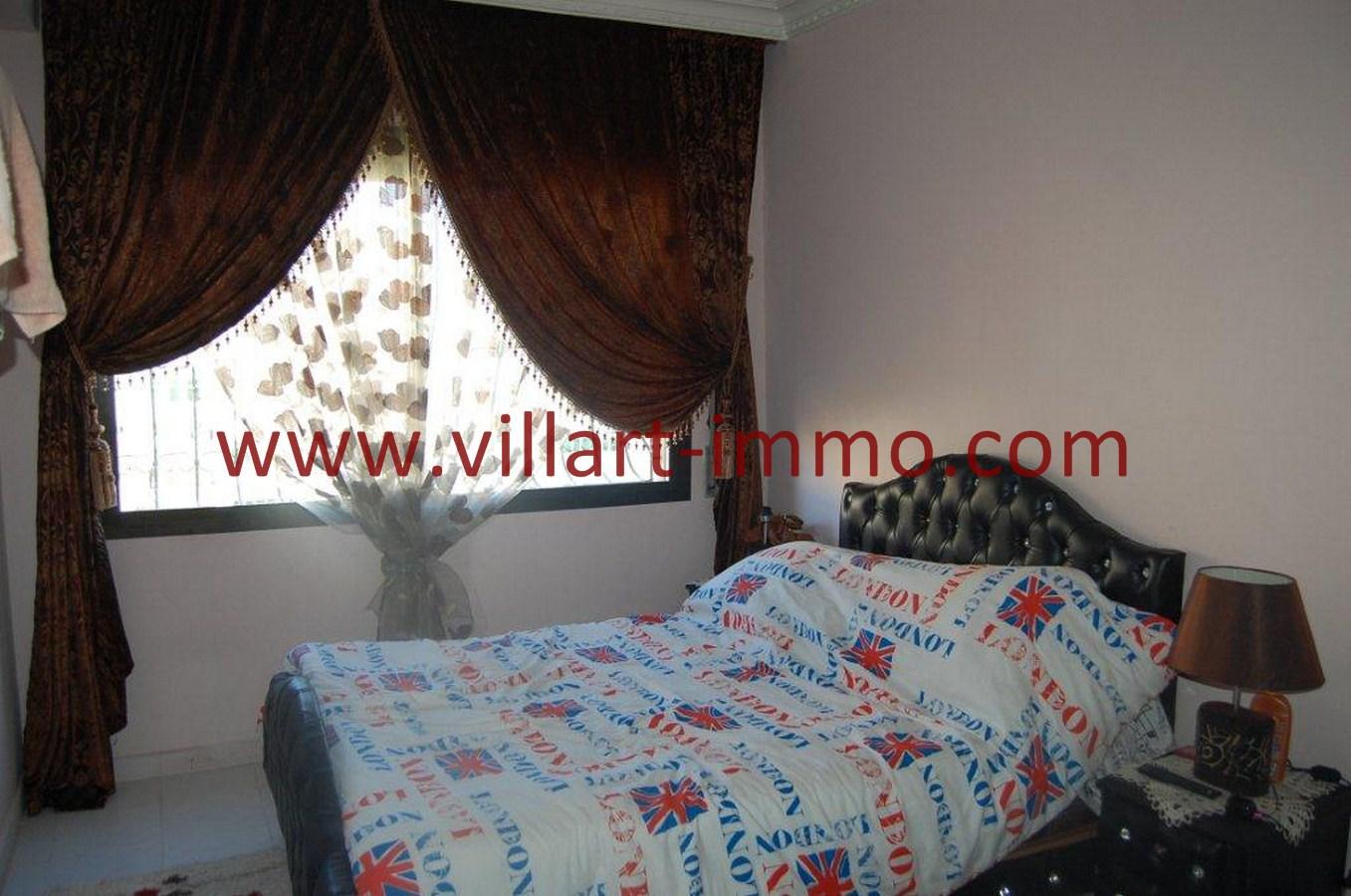 4-Vente-Appartement-Tanger-Centre-Ville -Chambre-à-Coucher -VA483-Villart Immo
