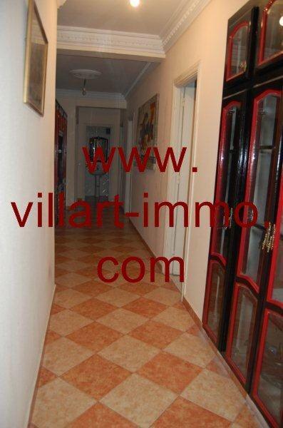 5-A louer-Appartement-Meublé-Tanger-Couloir-L888-Villart immo