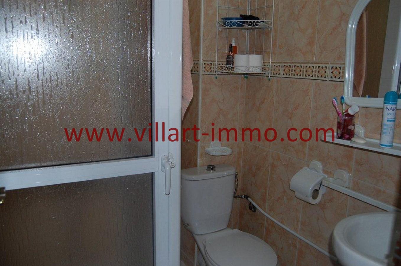 5-Vente-Appartement-Tanger-Centre-Ville -Salle-De-Bain -VA483-Villart Immo