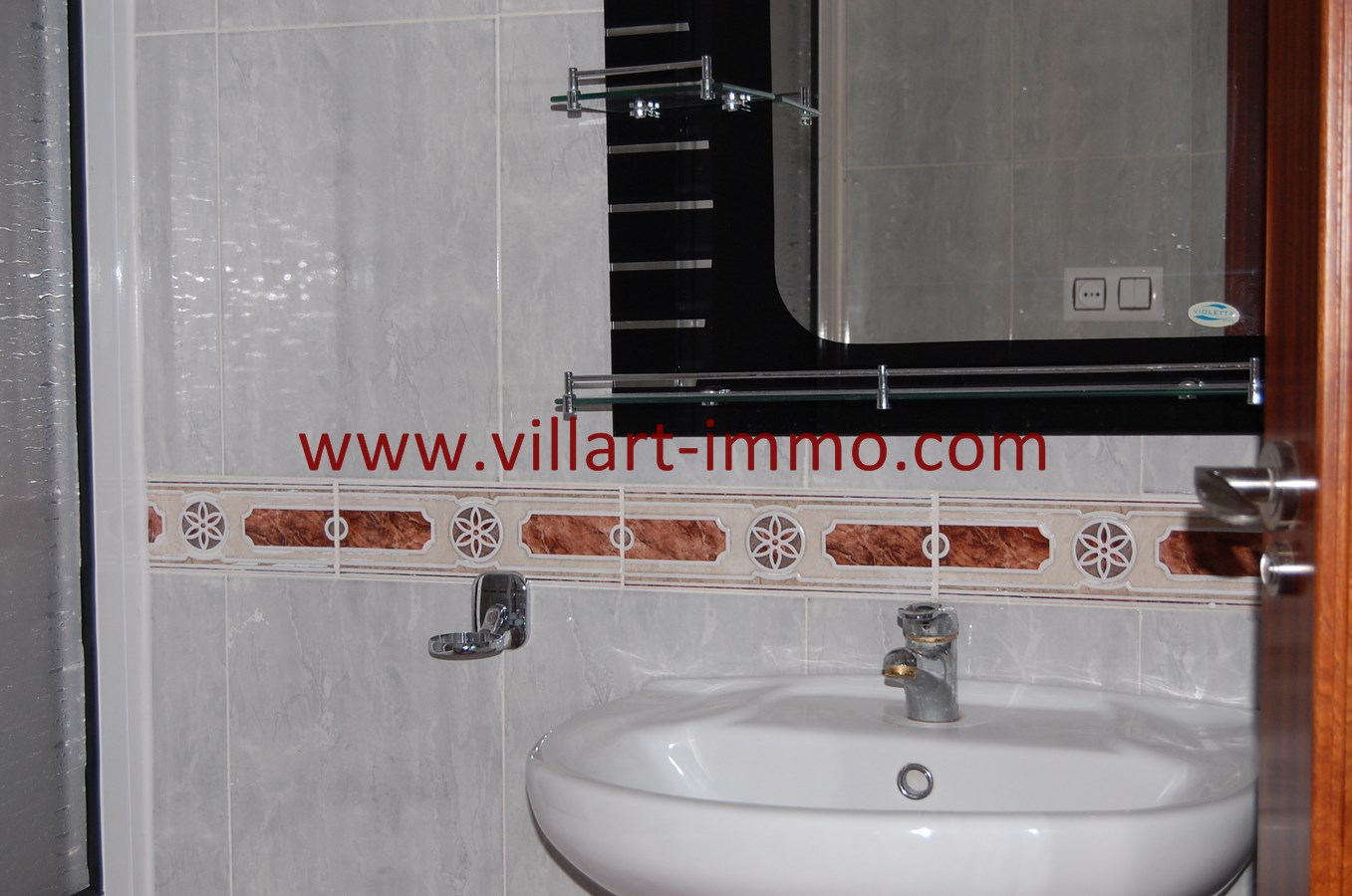 5-Vente-Appartement-Tanger-Malabata-Salle de Bain-VA486-Villart Immo