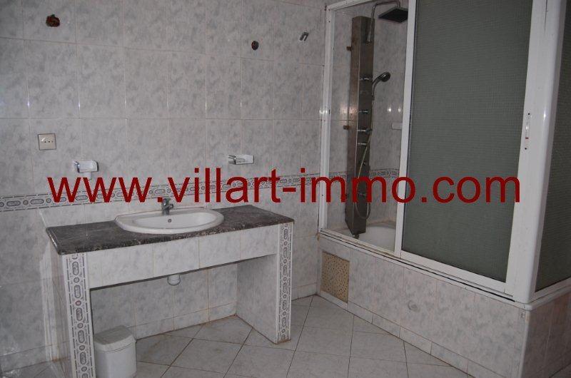 6-A louer-Appartement-Meublé-Tanger-Salle de bain-L888-Villart immo