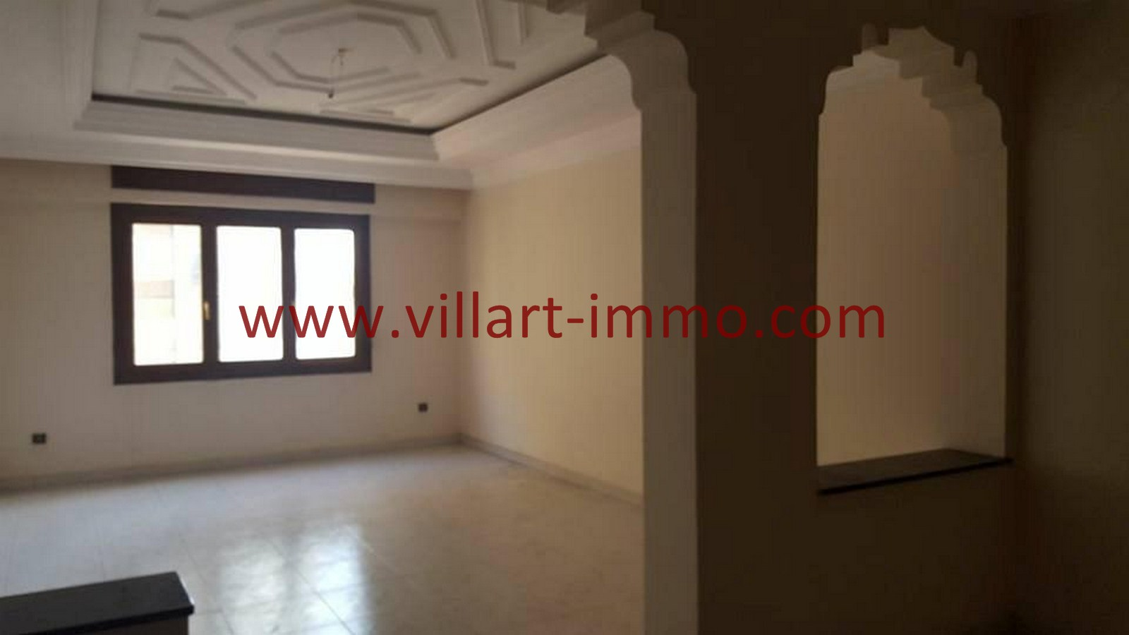 1-Vente-Appartement-Tanger-Centre-ville-Salon-VA488-Villart Immo