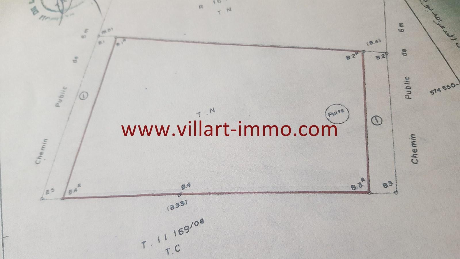 2-Vente-Terrain-Tanger-Mediouna-VT25-Villart Immo