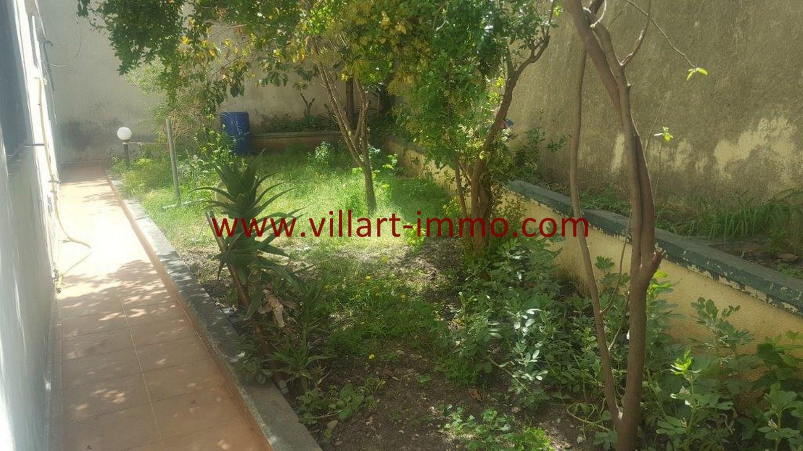 20-Vente-Villa-Tanger-Moujahidin-Jardin 2-VV491-Villart Immo