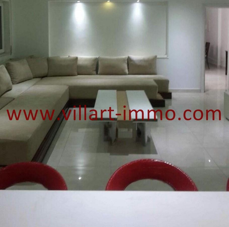 3-Vente-Appartement-Tanger-Malabata-Salon 2-VA489-Villart Immo