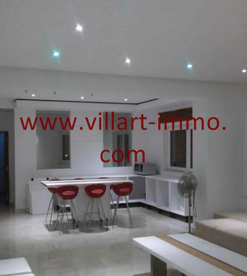 4-Vente-Appartement-Tanger-Malabata-Séjour-VA489-Villart Immo