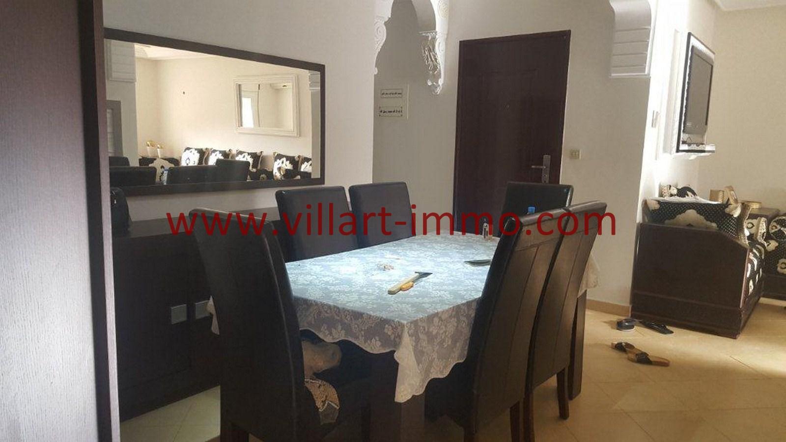4-Vente-Appartement-Tanger-Val fleuri -Entrée-VA484-Villart Immo