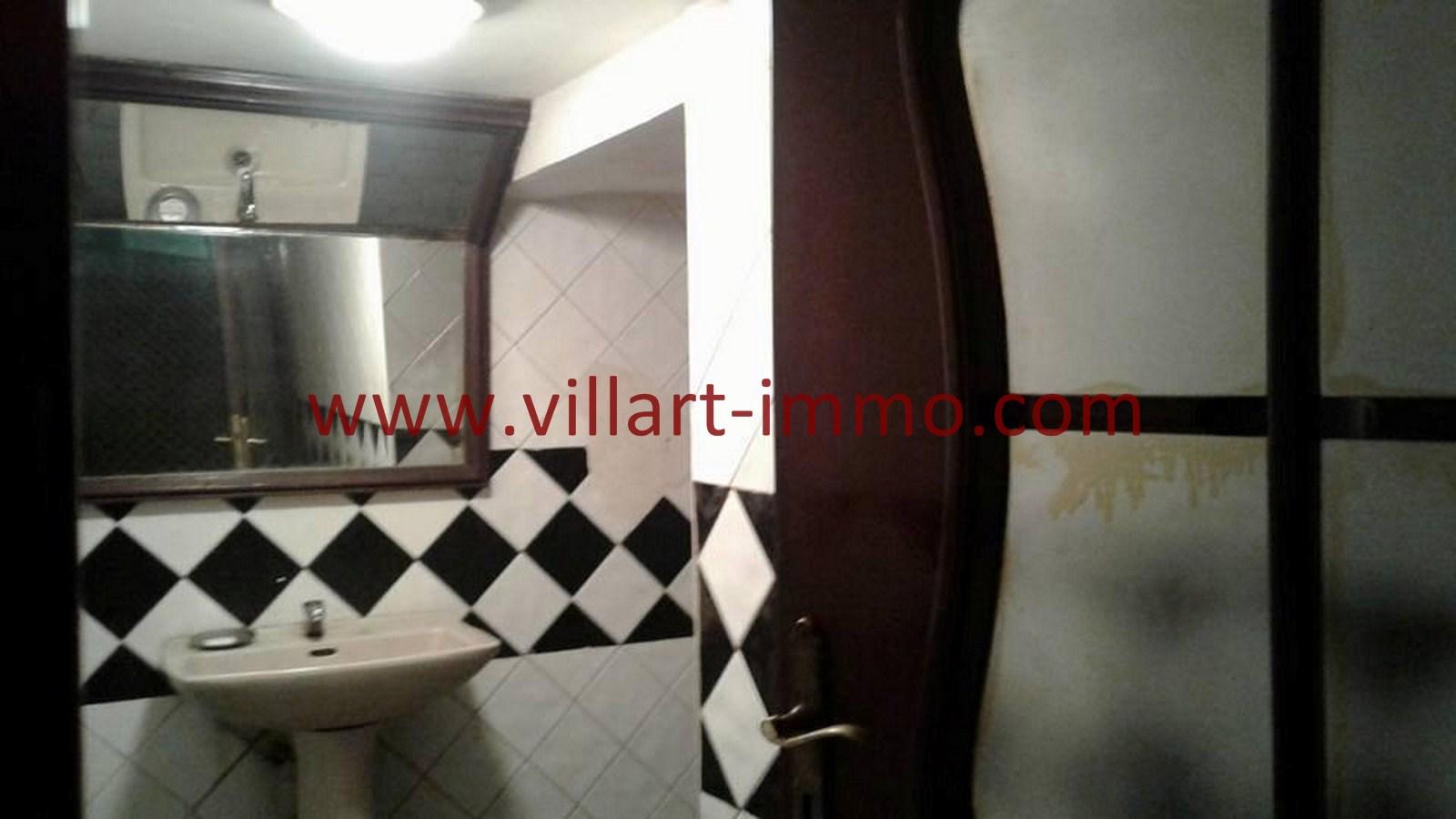 4-Vente-Local-Centre-Ville-Tanger-Toilette de service-Villart Immo