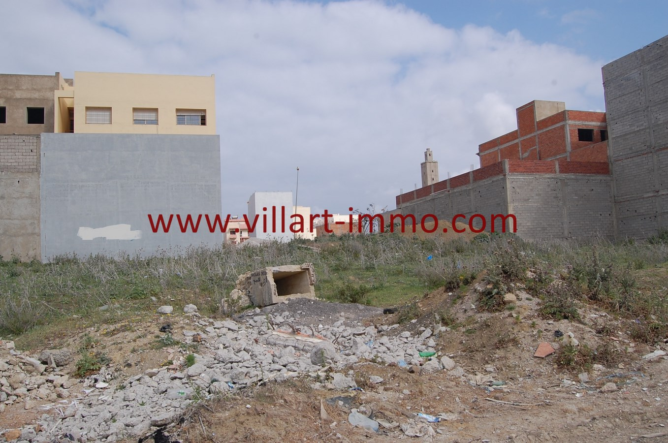 4-Vente-Terrain-Tanger-Gzenaya-VT27-Villart Immo